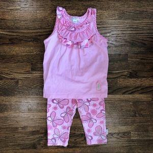 396b6c9b3e Naartjie Butterflies & Ruffles Outfit